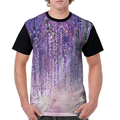 (Trend t-Shirt,Ivy Blossoms Woodland Design Fashion Personality Customization)