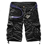 Best Shorts For Men - Men's Summer Retro Casual Cargo Shorts Multi Pockets Review