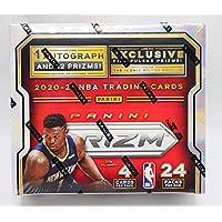 $339 » 2020/21 Panini Prizm NBA Basketball Retail Box - 24 Packs of 4 Cards Each - 1 Autograph…