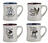 Catholic & Religious Animal Mugs 4pcs