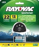 Rayovac Sportsman 22 Lumen 3 In 1 Headlight With 3 Aaa