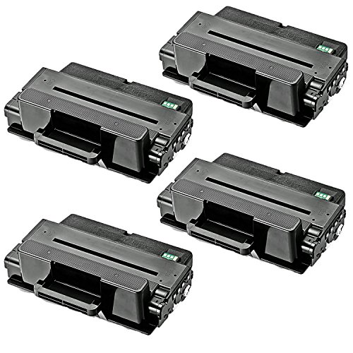 4-Pack Replacement Toner Cartridge for Samsung MLT-D203L, 5K