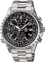 Edifice EF-527D-1AVCF Reloj Análogo para Hombre, Acero Inoxidable