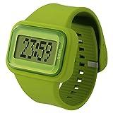 o.d.m watch Rainbow digital display scrolling message display Green DD125-7
