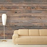 wall26 Large Wall Mural - Seamless Wood Pattern | Self-adhesive Vinyl Wallpaper/Removable Modern Decorating Wall Art - 100''x144''