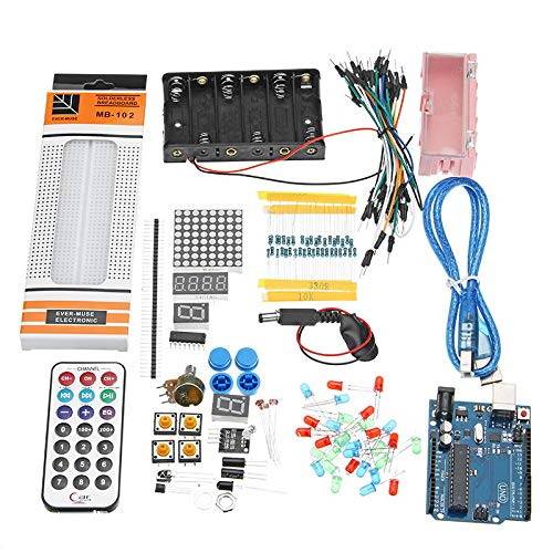 28 Kinds UNO R3 Breadboard Buzzer Sensor LED Element Kit For - Arduino Compatible SCM & DIY Kits Arduino Compatible Kits & DIY Kits - 1 x -