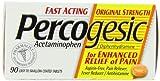 Percogesic Original Strength, Acetaminophen and