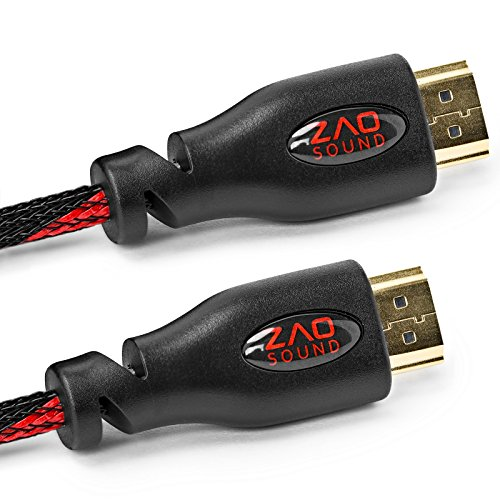 BAM 3 Pack High Speed 4K HDMI Cables – 10' Long