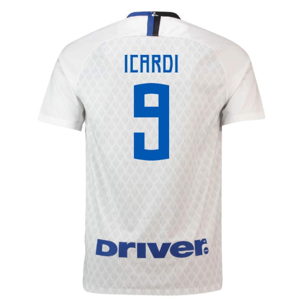 2018-19 Inter Milan Away Football Soccer T-Shirt Trikot (Mauro Icardi 9) - Kids
