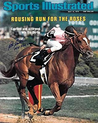 Affirmed signed Kentucky Derby Horse Racing 16X20 Photo Sports Illustrated Cover May 5, 1978 w/ 1978 Triple Crown