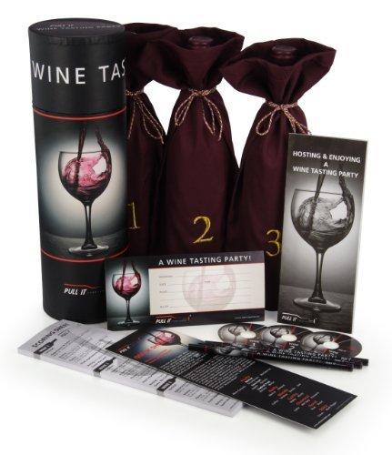 White Wine Tasting Kit (Barbuzzo Wine Tasting Party Kit)
