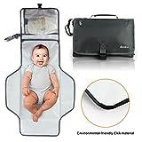Becko Eco-friendly Water-proof Diaper Pad Clutch / Baby Diaper Changing Handbag Purse/ Unisex Multi-functional Diaper Mat Bag