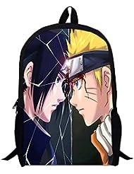 Siawasey Naruto Anime Uzumaki Naruto Cartoon Backpack Shoulder School Bag(# 06)
