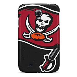 Samsung Galaxy S4 KXA15929eYqy Unique Design Lifelike Tampa Bay Buccaneers Pattern Great Cell-phone Hard Cover -KaraPerron