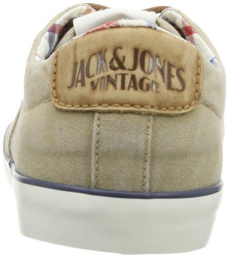 JACK & JONES JJ SURF CANVAS JJVC 12075275 Herren Sneaker Beige (Cornstalk)