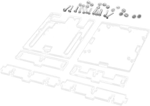 Carcasa Caja de Acrílico Transparente para Arduino UNO R3: Amazon ...