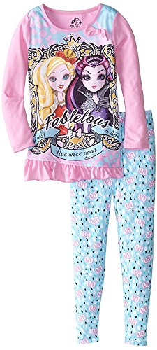 Ever After High Big Girls' Legging Set, Pink, 8 - High Outfits Monster