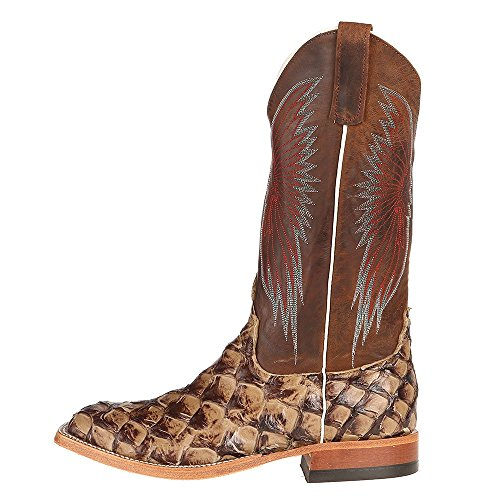 ... Nrs Anderson Bønne Menns Rataetna Sjokolade Sint Katt Med 13 Topp  Cowboy Boots Brun ...