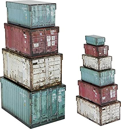 Paper Collection Lote DE 10 Cajas de Regalo de Almacenaje Organizacion Hogar Decorativas Container Design Cajas de Contenedores Rectangulares