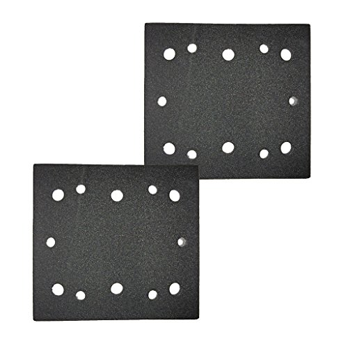 Ryobi S652DK 1/4 Sheet Double Insulated Sander (2 Pack) Replacement Pad Assembly # 039066005051-2pk (Assembly Sheet)