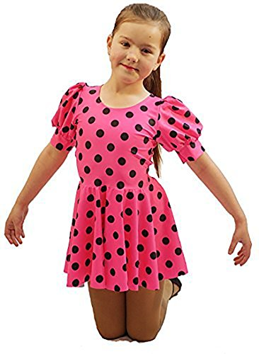 World Book Day-Dancewear-Stage Show SALLY BROWN LYCRA Child's Costume – All Ages (AGE (Girls Sally Costumes)
