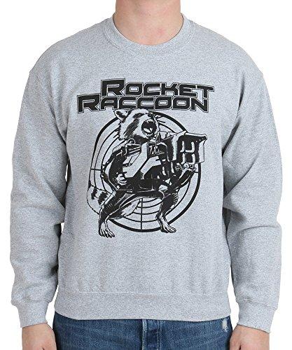 Marvel Guardians of the Galaxy Rocket Raccoon Target Mens Pullover Sweatshirt ()