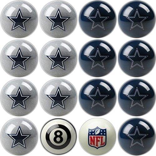 Imperial Officially Licensed Dallas Cowboys Football Billiard Pool Cue Ball Set Dallas Cowboys Nfl Billiard Balls