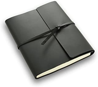 product image for Rustico Rustic Leather Writer's Book - A Leather Journal with Lined Pages - Black