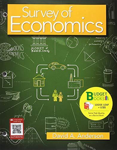 Loose-leaf Version for Survey of Economics