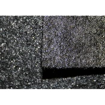 "CHARCOAL  48/""W Speaker Sub Woofer Box Trunk Liner DJ Enclosure Polymat Carpet"