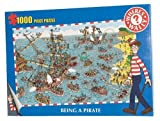 Paul Lamond Games - Where's Wally 1,000 Piece Puzzle - Pirate