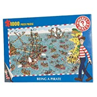 Where's Wally Being a Pirate 1,000 Piece Puzzle