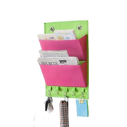 Amazon Moyad Mail Organizer Wall Mount Over The Door Letter Beauteous Door Magazine Holder