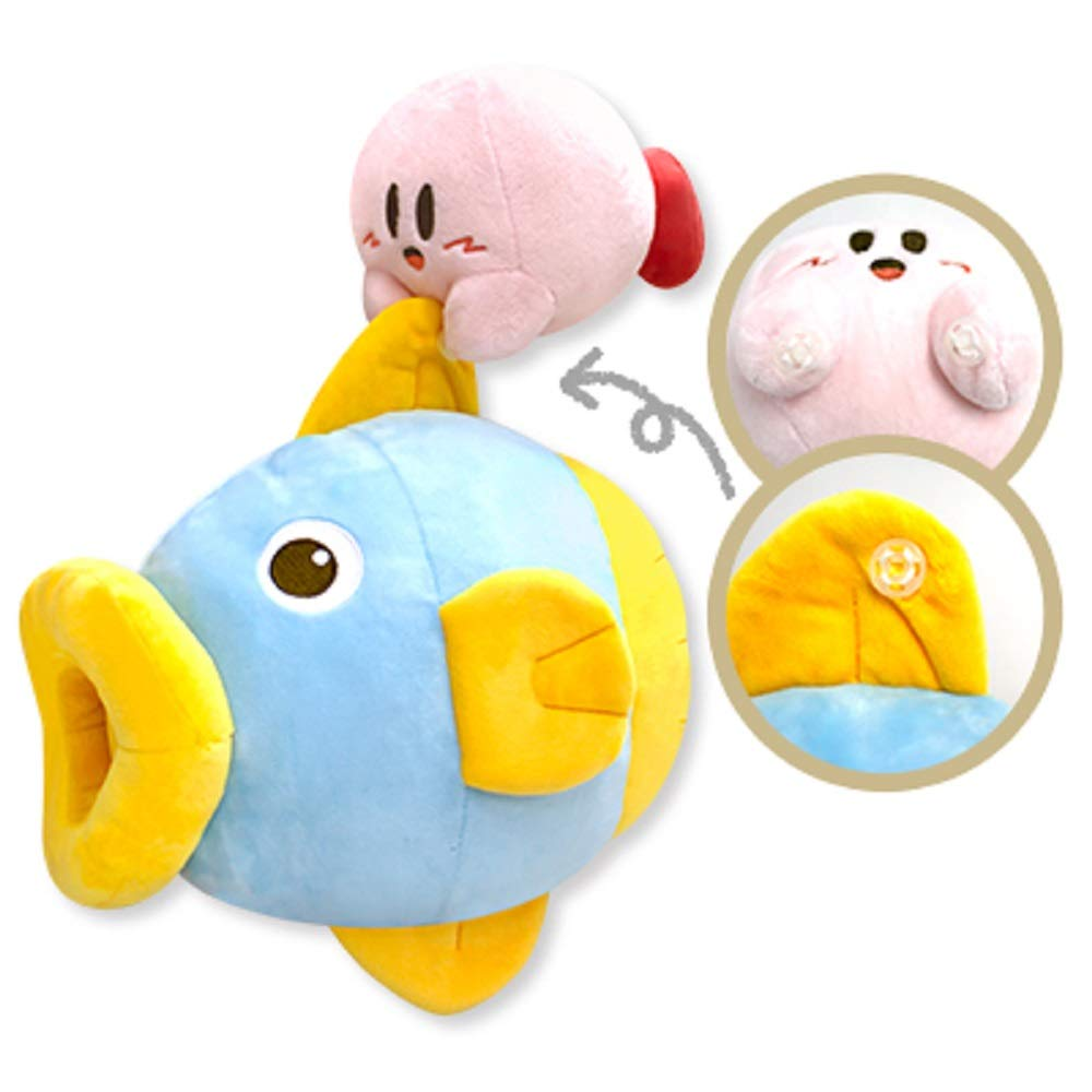 6pcs Kirby Action Figure Kirby Popopo Chef Spoon Star Apple Model Toys Gift UK