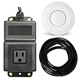 Geyser White Garbage Disposal Air Switch Unit
