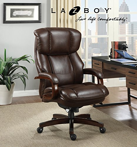 La Z Boy Fairmont Big Amp Tall Executive Bonded Leather
