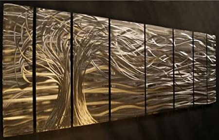 Contemporary metal wall art. Wall Sculptures by Ash Carl: Amazon.co ...