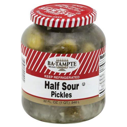 Ba Tampte Half Sour Pickles 32.0 OZ (Pack of 1)