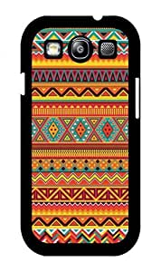 iZERCASE Colorful Aztec Pattern RUBBER Samsung Galaxy S3 case