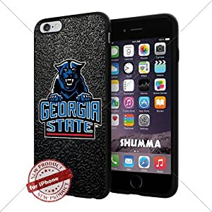 "NCAA Georgia State Panthers Cool iPhone 6 Plus (6+ , 5.5"") Smartphone Case Cover Collector iphone TPU Rubber Case Black"