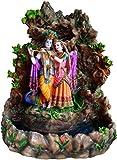 "Radh and Krishna At Govardhana Statue 16"""