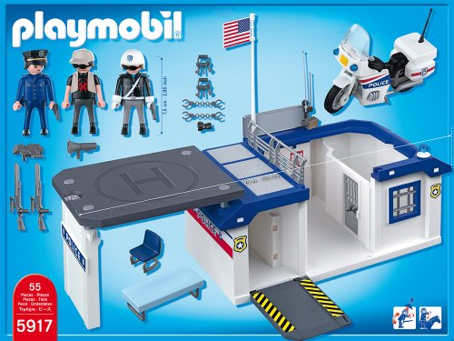 playmobil take along police station playset buy online in uae toy products in the uae see. Black Bedroom Furniture Sets. Home Design Ideas