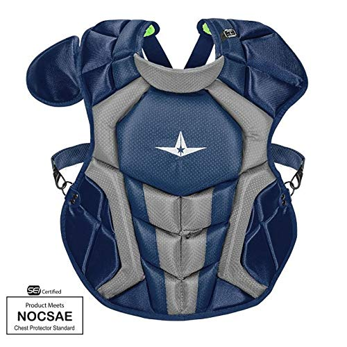 All-Star CPCC912S7X Navy Blue 14.5 in 9-12 System 7 Chest Protector SEI/NOCSAE
