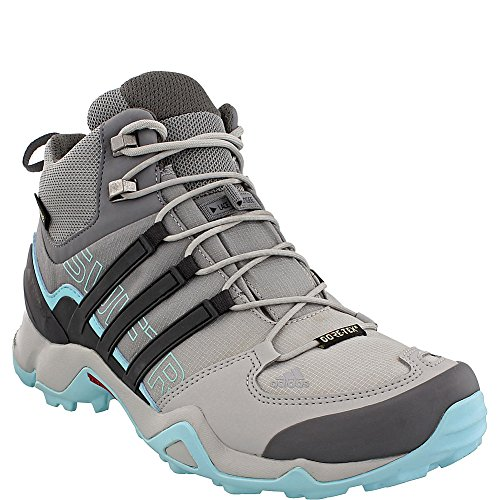 adidas Terrex Swift R Mid GTX Boot Women's Hiking 11 Grey-Utility Black-Clear Aqua buy cheap clearance outlet manchester great sale get to buy sale online GFmUqb7S