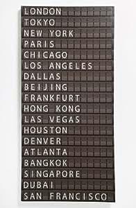 Large Airport Flight Departure Board Wall Art