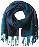Calvin Klein Women's Colorblock Woven Scarf, Night, One Size