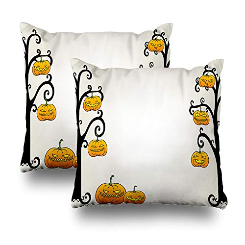 LALILO Set of 2 Throw Pillow Covers, Traditional