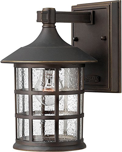Hinkley 1804OZ Traditional One Light Wall Mount from Freeport collection in Bronze/Darkfinish, from Hinkley