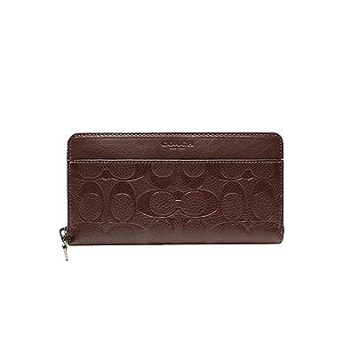 057cbf28ae46 Amazon | COACH 人気の長財布 新品 コーチ シグネチャー メンズ 紳士用 通勤風 2色 F74999 (ブラウン) | コーチ  アウトレット(COACH OUTLET) | 財布