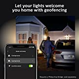 Philips Hue Lucca White Outdoor Lantern